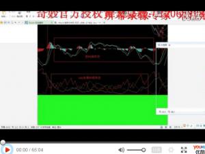 黄天培训营奇妙趋势软件指标总结视频