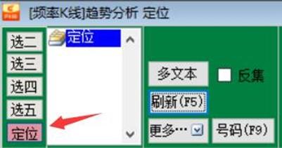 奇妙软件FT六码(3到8名)简单研判方法